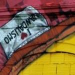 35 lisboa graffiti - italiani a lisbona - foto