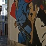 40 lisboa graffiti - italiani a lisbona - foto