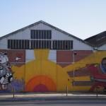 45 Lisboa graffiti Italiani a Lisbona foto