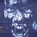 50 Lisboa graffiti Italiani a Lisbona foto
