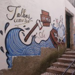53 Lisboa graffiti Italiani a Lisbona foto
