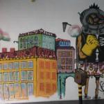 54 Lisboa graffiti Italiani a Lisbona foto