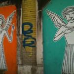 7 lisboa graffiti - italiani a lisbona - foto