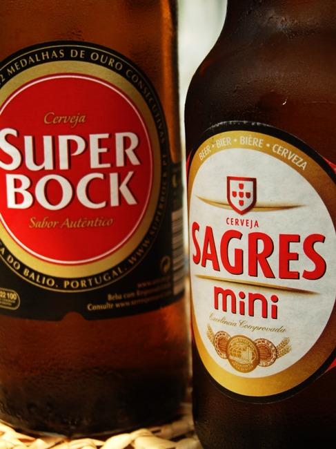Super Bock Sagres cerveja portugal