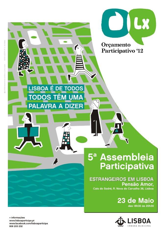 Orçamento Partecipativo 2012 Lisboa assembleia bilancio