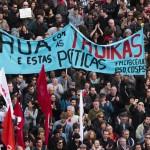 Greve Geral Manif 14 novembro manifestazione lisbona