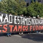 Greve Geral Manif Lisboa manifestazione sciopero