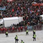 Manifestazione 14 novembre Lisbona parlamento sciopero