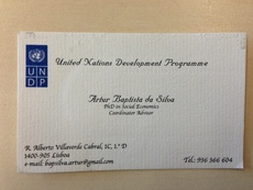 United Nations Development Programme -  Artur Baptista da Silva