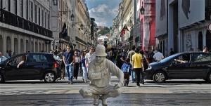 Rua Augusta Lisboa - Artisti di strada