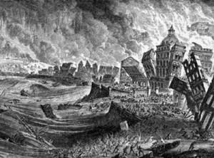 Terremoto Lisboa 1755 terramoto