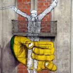 24 lisboa graffiti - italiani a lisbona - foto