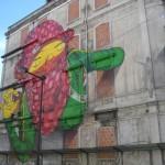 28 lisboa graffiti - italiani a lisbona - foto
