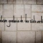 36 lisboa graffiti - italiani a lisbona - foto