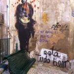 44 lisboa graffiti - italiani a lisbona - foto