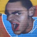 46 Lisboa graffiti Italiani a Lisbona foto