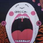 48 Lisboa graffiti Italiani a Lisbona foto
