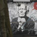 49 Lisboa graffiti Italiani a Lisbona foto