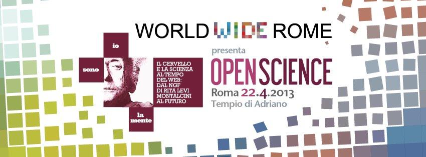 World Wode Rome - Open Science io sono la mente